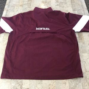 Nike windbreaker storm fit Montana Griz Large